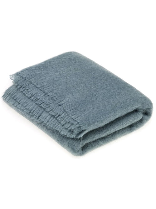 BRONTE MOON MOHAIR THROW