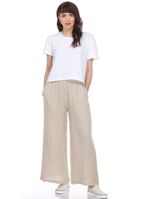 Honest Cotton Palazzo Long Pant