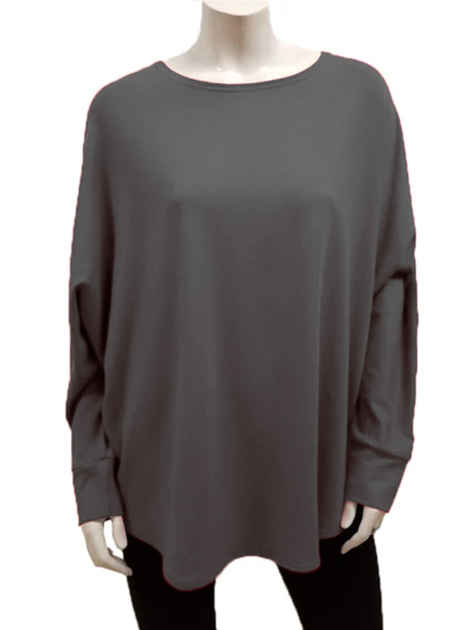 Bamboo Shirttail Pull Over