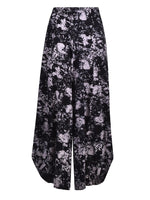 Alembika Punto Pant in Abstract Smoke Print