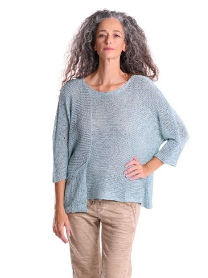 Alembika Scoop Neck Knit Sweater