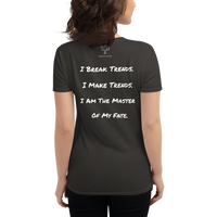 I Am Fearless Women's short sleeve t-shirt