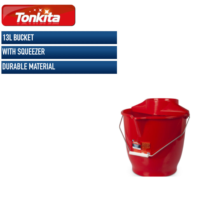 Tonkita 13L Bucket with Squeezer