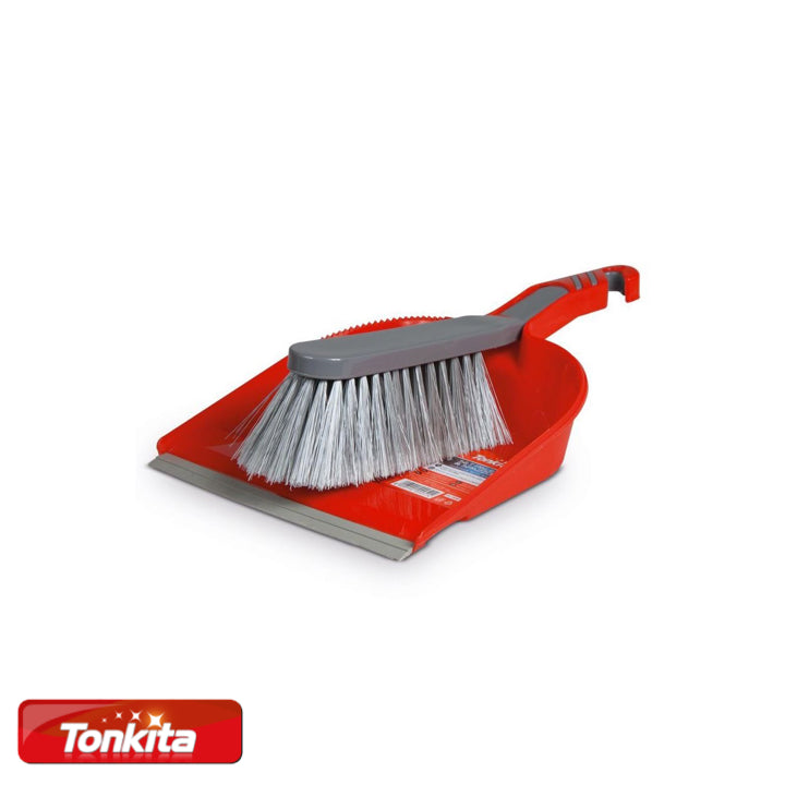 Tonkita Handy Brush with Dust Pan Set