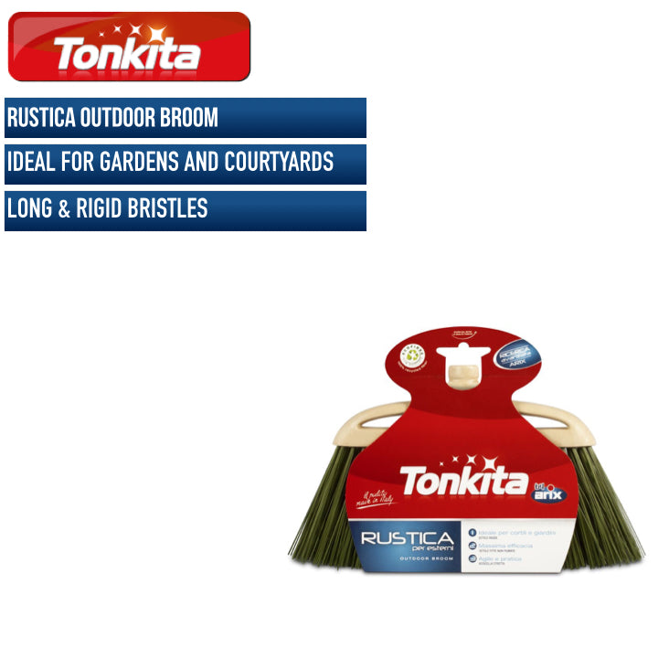 Tonkita Rustica Outdoor Broom