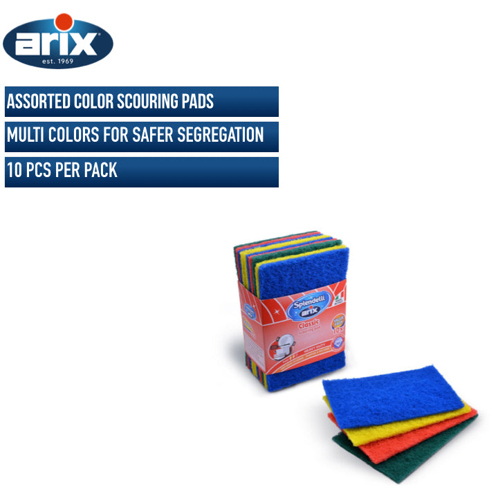 Arix Multi Color Scouring Pads