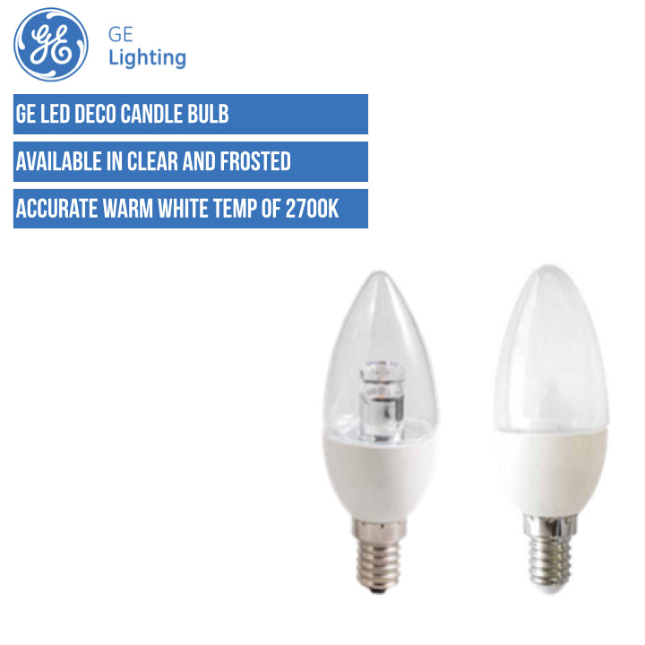 GE LED Deco Candle
