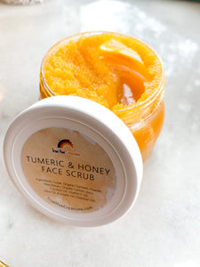 Tumeric and Honey Face Scrub