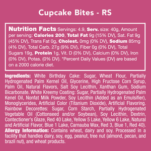 Cupcake Bites (cold shipping included*)