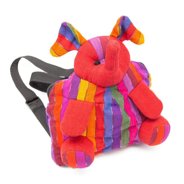 Colorful Elephant Backpack