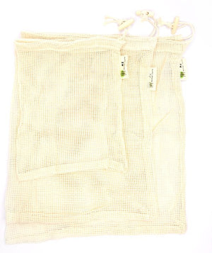 Reusable Cotton Produce Bags- 3PK