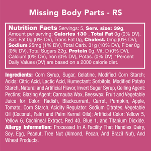 Missing Body Parts (cold shipping included*)