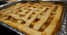 Load image into Gallery viewer, Double Crust Peach Cobbler