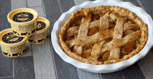 Double Crust Peach Cobbler