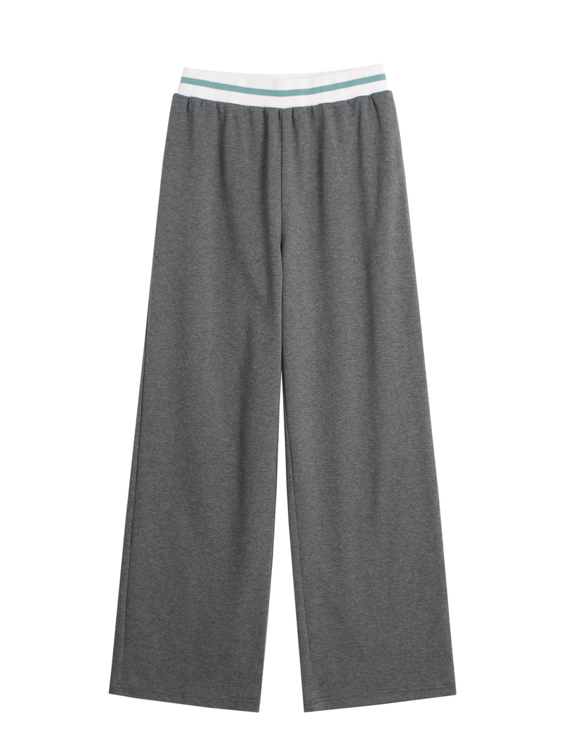 Wide-Leg Relaxed Fit Joggers