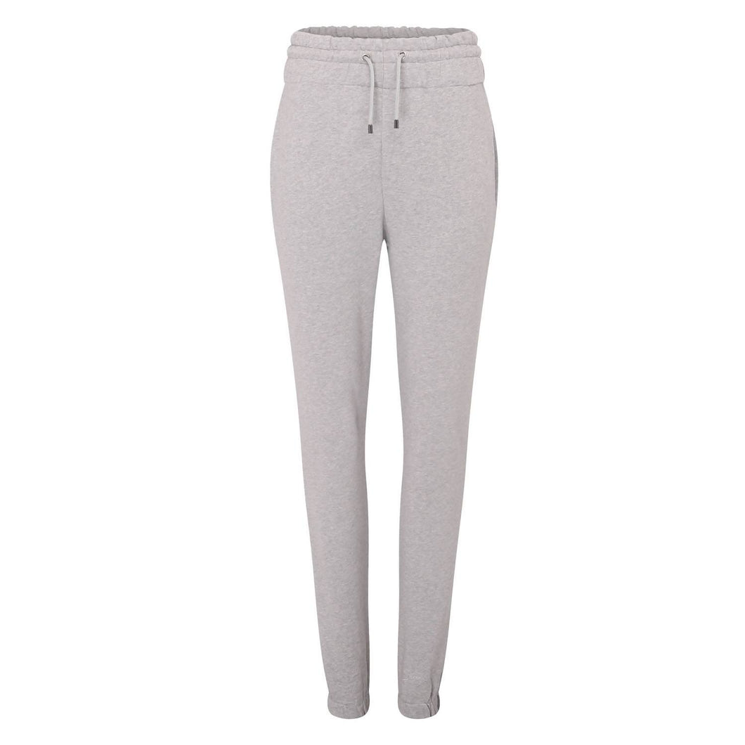 Sheen London Grey Organic Cotton High Waist Joggers
