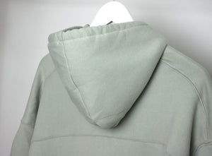 Light Sage Jumper with Ruched Sleeves
