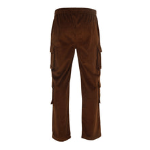 Load image into Gallery viewer, Womens corduroy cargo trousers