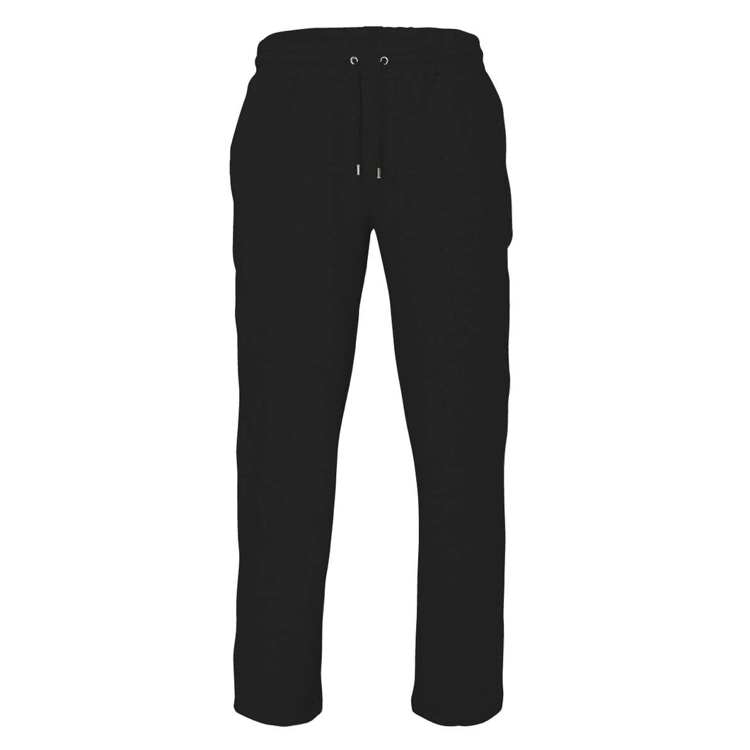 Black mens staple luxe joggers