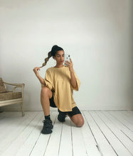 Load image into Gallery viewer, Oversized T-Shirt Butterscotch