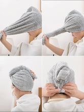 Load image into Gallery viewer, Quick Dry Magic Hair Wrap