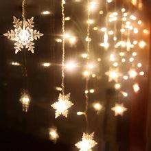 Load image into Gallery viewer, Snowflake String Light