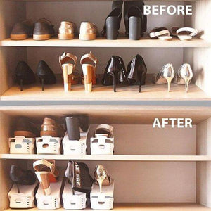 Shoe Organizer Rack (8 Pcs)