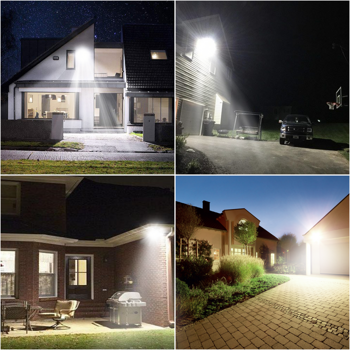 140W Smart Solar LED Security Lamps for Residential & Commercial Properties, Driveways, Farms & Parking Lots