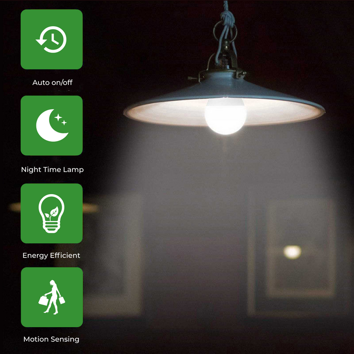 Automatic Motion Sensing Smart eBulbs