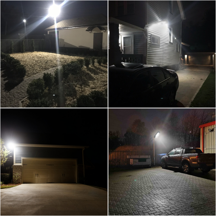 Smart Solar LED Security Lamps for Residential & Commercial Properties, Driveways, Farms & Parking Lots
