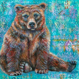 Load image into Gallery viewer, Aztec Bear