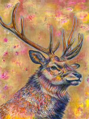 Load image into Gallery viewer, Magnetic - Elk 30x40""