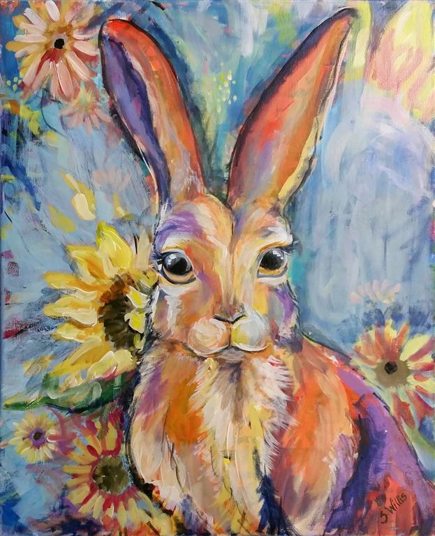 Load image into Gallery viewer, Sunflower Hare