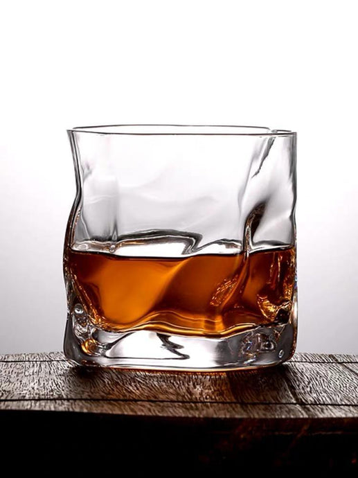 【Limited time offer 40%】Irregular Whiskey Glass