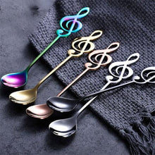 Load image into Gallery viewer, 20%OFF-Music coffee stainless steel spoon