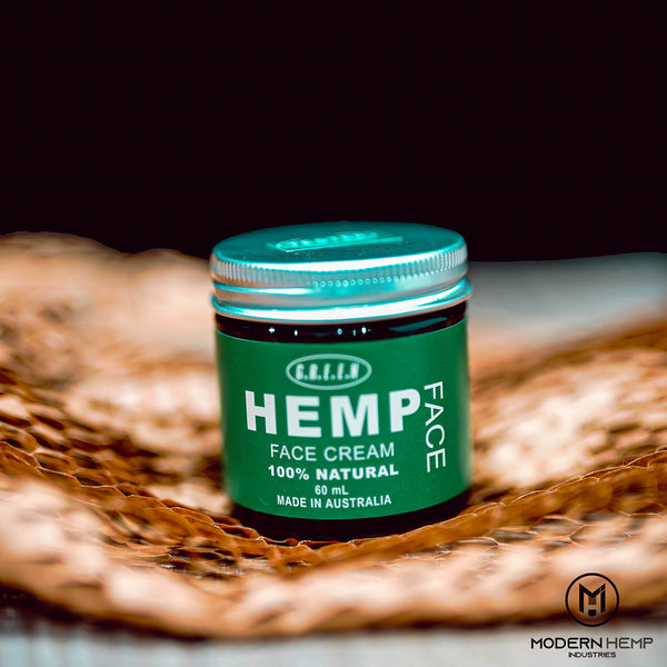 Hemp face cream 100% organic seed oil all natural Moisturizing - Modern Hemp Industries | Home of Hemp! We promote Hemp products and using Hemp!