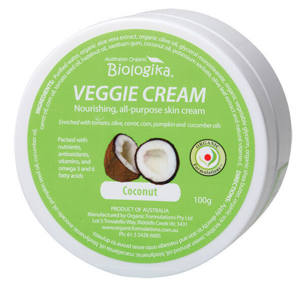 Australian Biologika Coconut Veggie Cream - Modern Hemp | Home of Hemp! We promote Hemp products and using Hemp