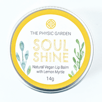 All Natural Lip Balm The Physic Garden Soul Chapstick  Organic Vegan Lemon Myrtle - Modern Hemp | Home of Hemp! We promote Hemp products and using Hemp
