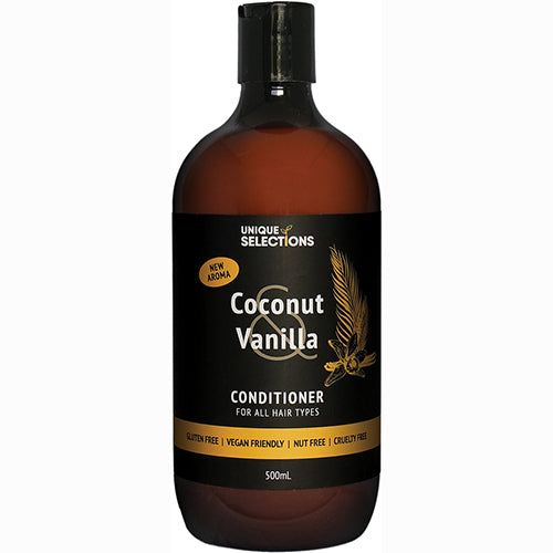 Unique Selections Coconut & Vanilla Conditioner - Modern Hemp Industries | Home of Hemp! We promote Hemp products and using Hemp!