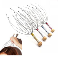 12 Acupuncture Point Head Neck Scalp Octopus Stress Relax - Modern Hemp | Home of Hemp! We promote Hemp products and using Hemp
