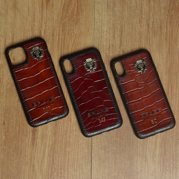 Customised Deepcut Leather Mobile Cover by Brune & Bareskin (Price for 1 Product)