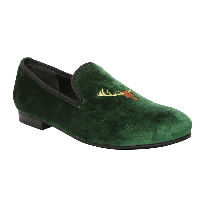 Green Italian Velvet Slip-On By Bareskin