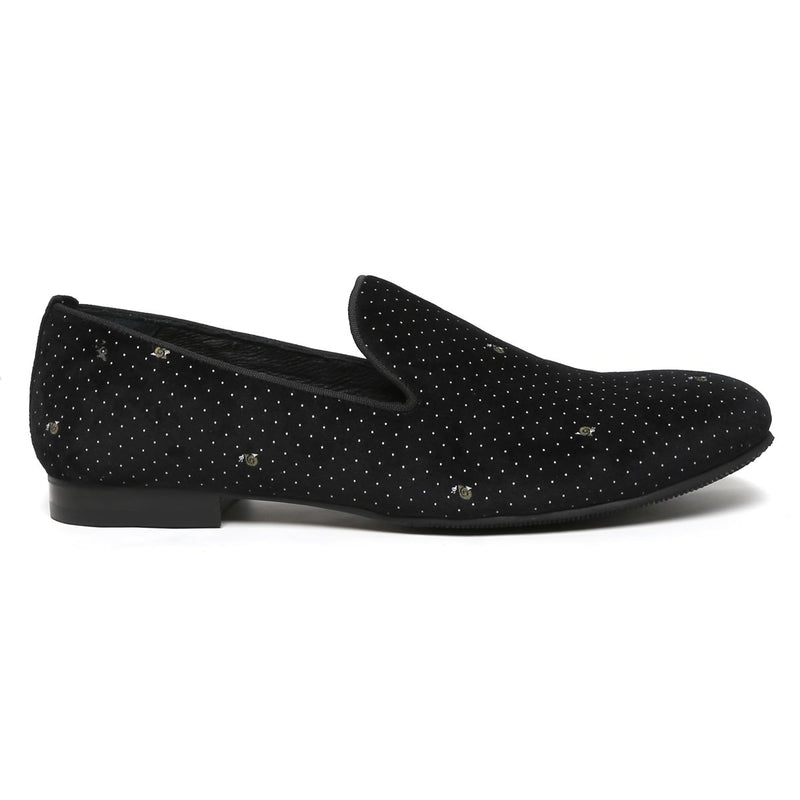 Black Genuine Leather Slip-On By Bareskin