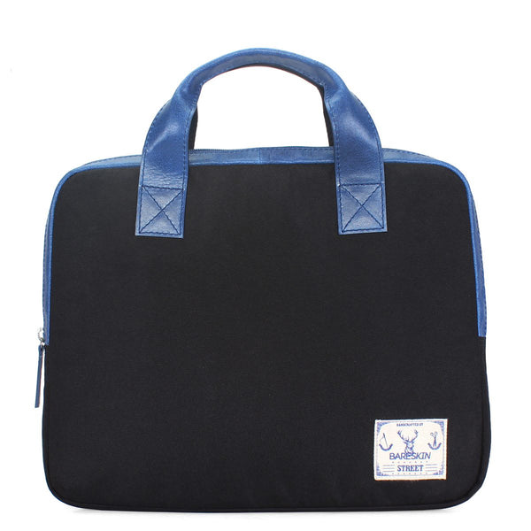 Bareskin Street Blue Leather/Danier Laptop Bag