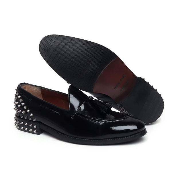 Black Leather Loafers By Brune