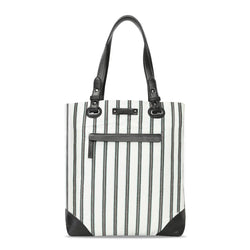 Bareskin Striped Ladies Shopper