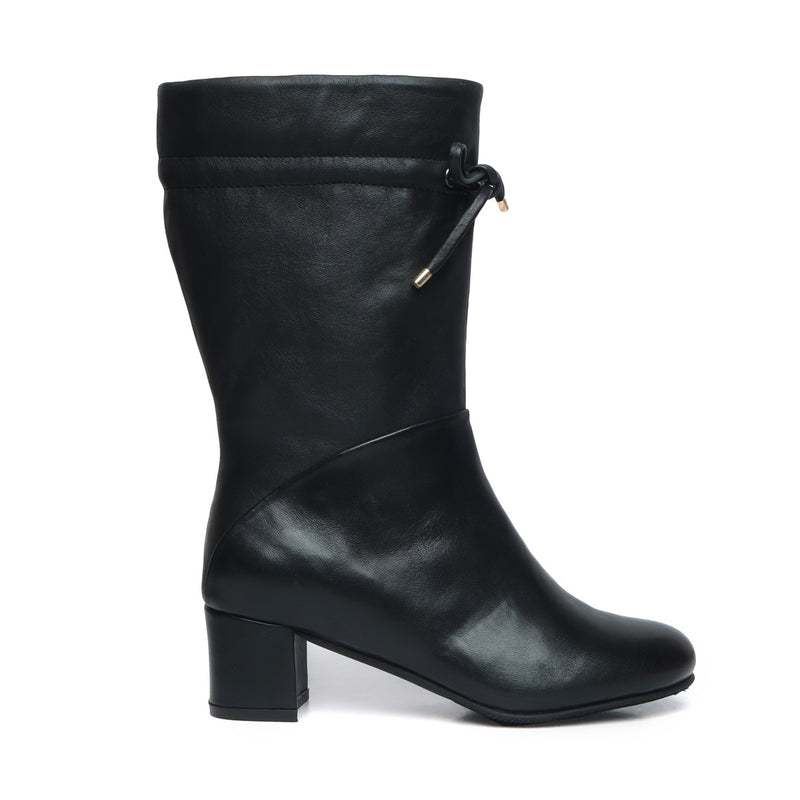 Black Forever Comfort High Ankle Ladies Boots By Brune