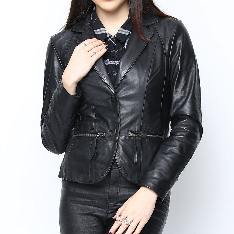 Bareskin Black Leather Jacket