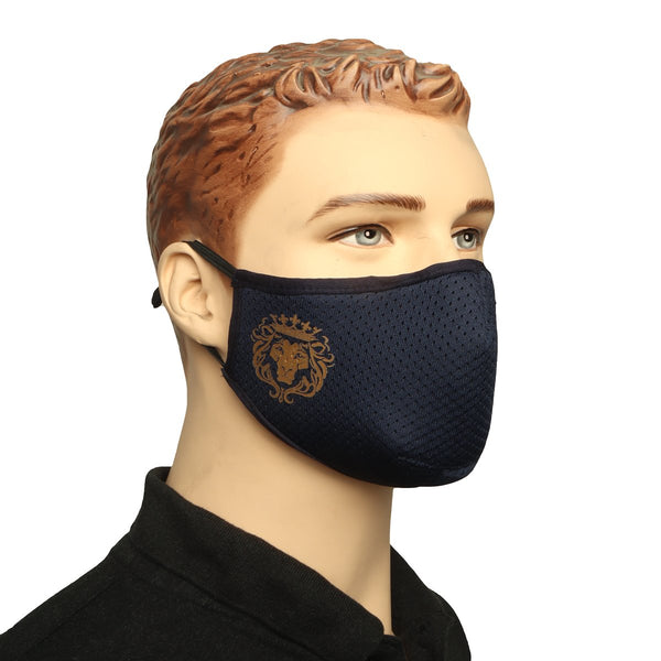 Blue Washable - Reusable Full Face Mask by BARESKIN