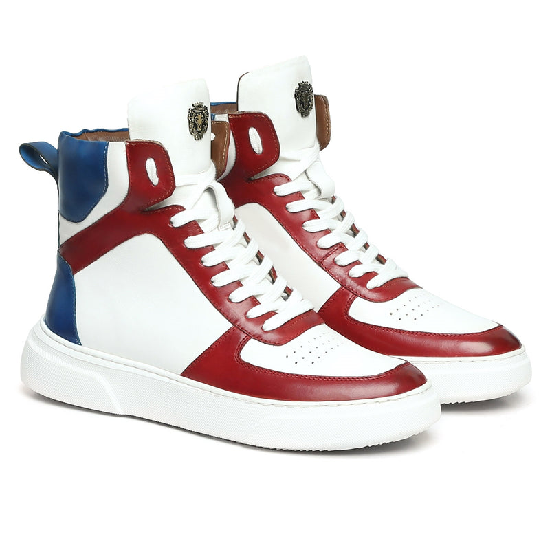 White-Red/Blue